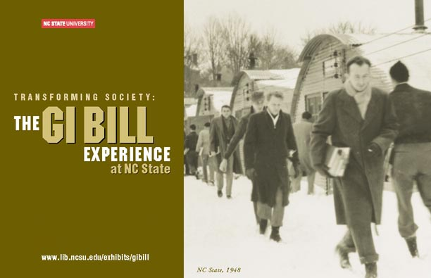 'The GI Bill Experience at NC State' Exhibition
