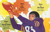 NC State Sports, Illustrated: Football and Basketball Program Cover Art, 1931-1972