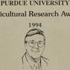 Purdue University Agricultural Research Award