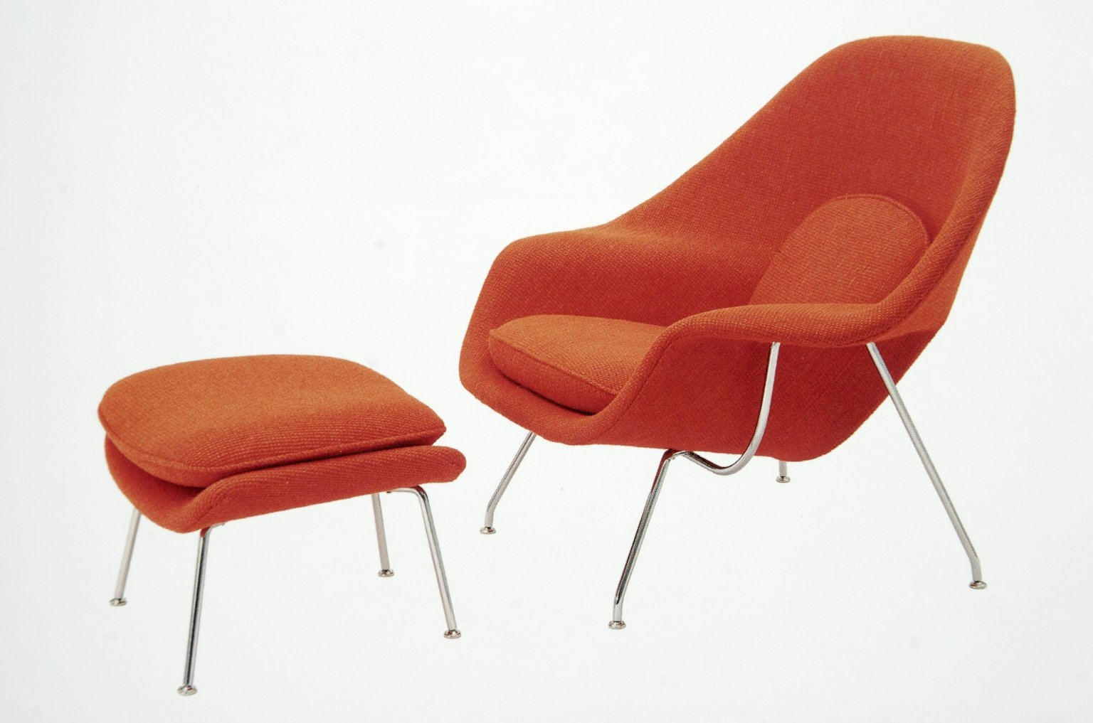 Womb Chair, Eero Saarinen, Design Library Image Collection