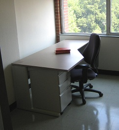 Desk in Faculty Study Room