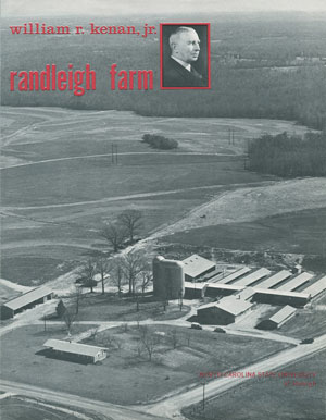 Aerial photo of Randleigh Farm in North Carolina