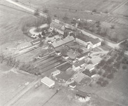 Aerial photo of Randleigh Farm prior to World War 2