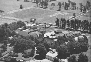 Aerial photo of Randleigh Farm in 1948