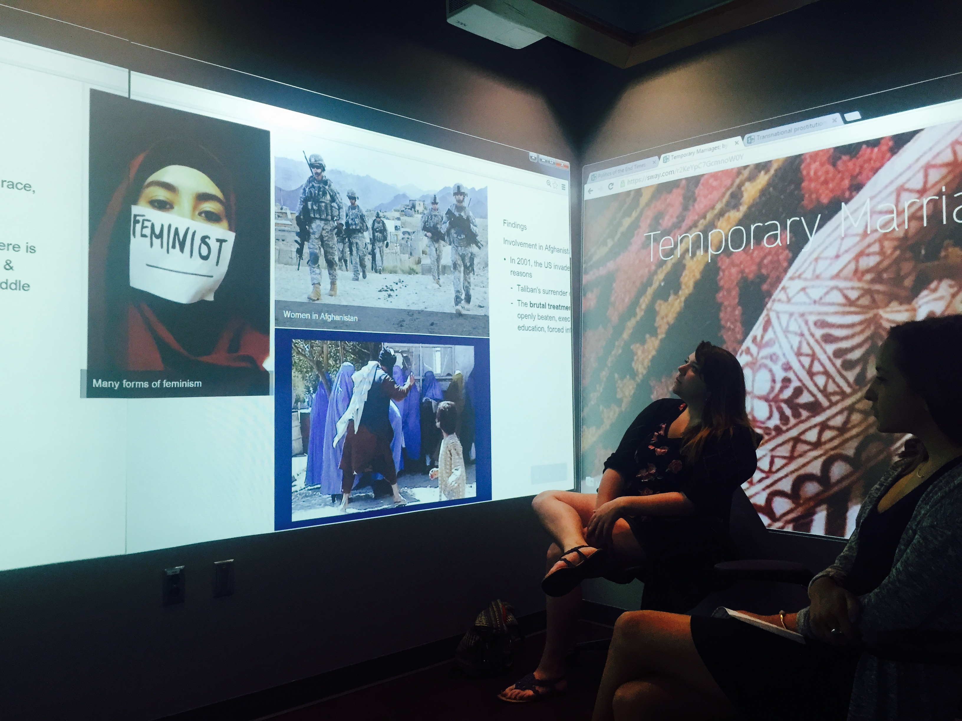 Anthropology becomes immersive in the Hunt Library's Teaching and Visualization Lab