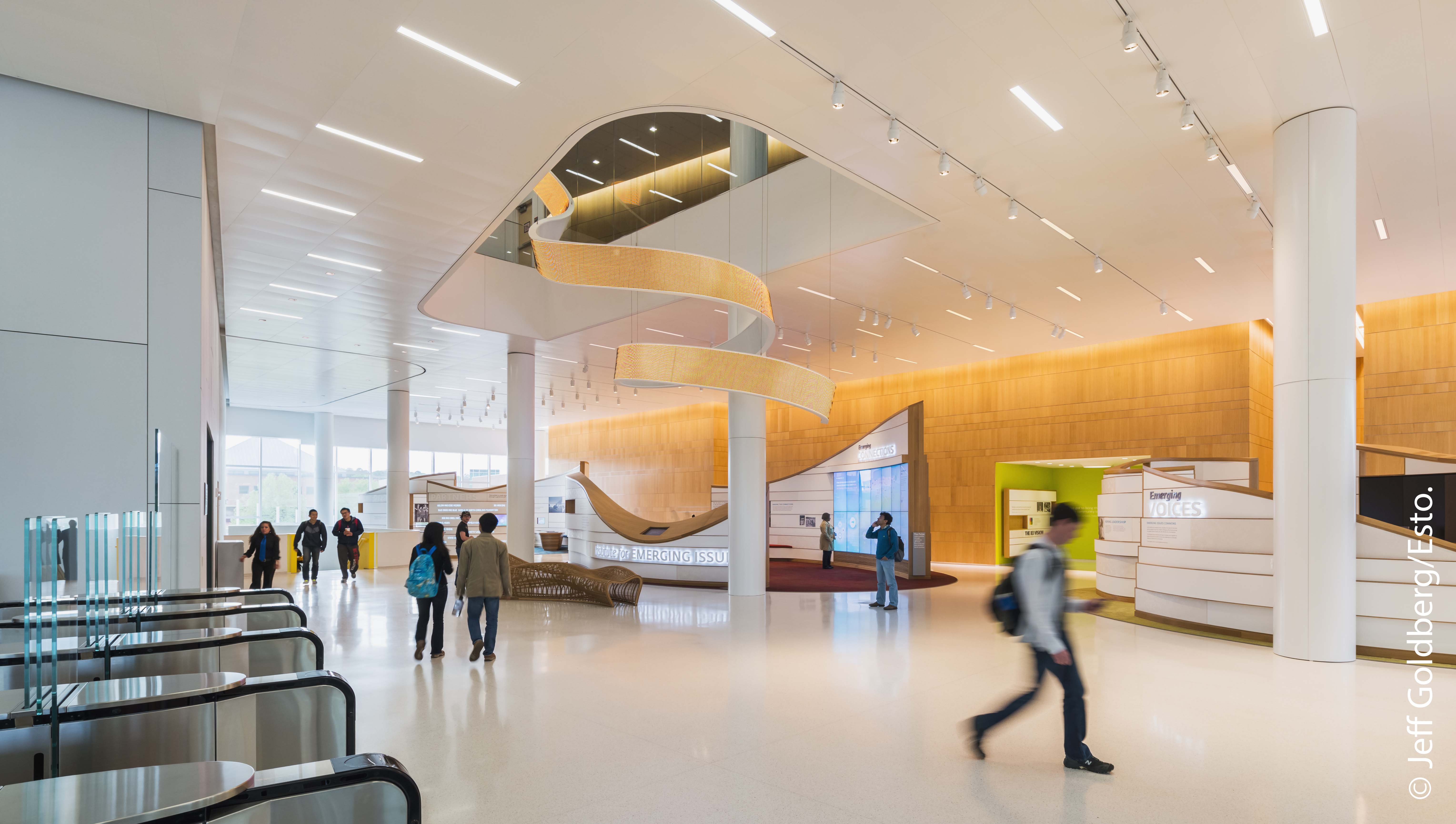 The James B  Hunt Jr  Library | NC State University Libraries