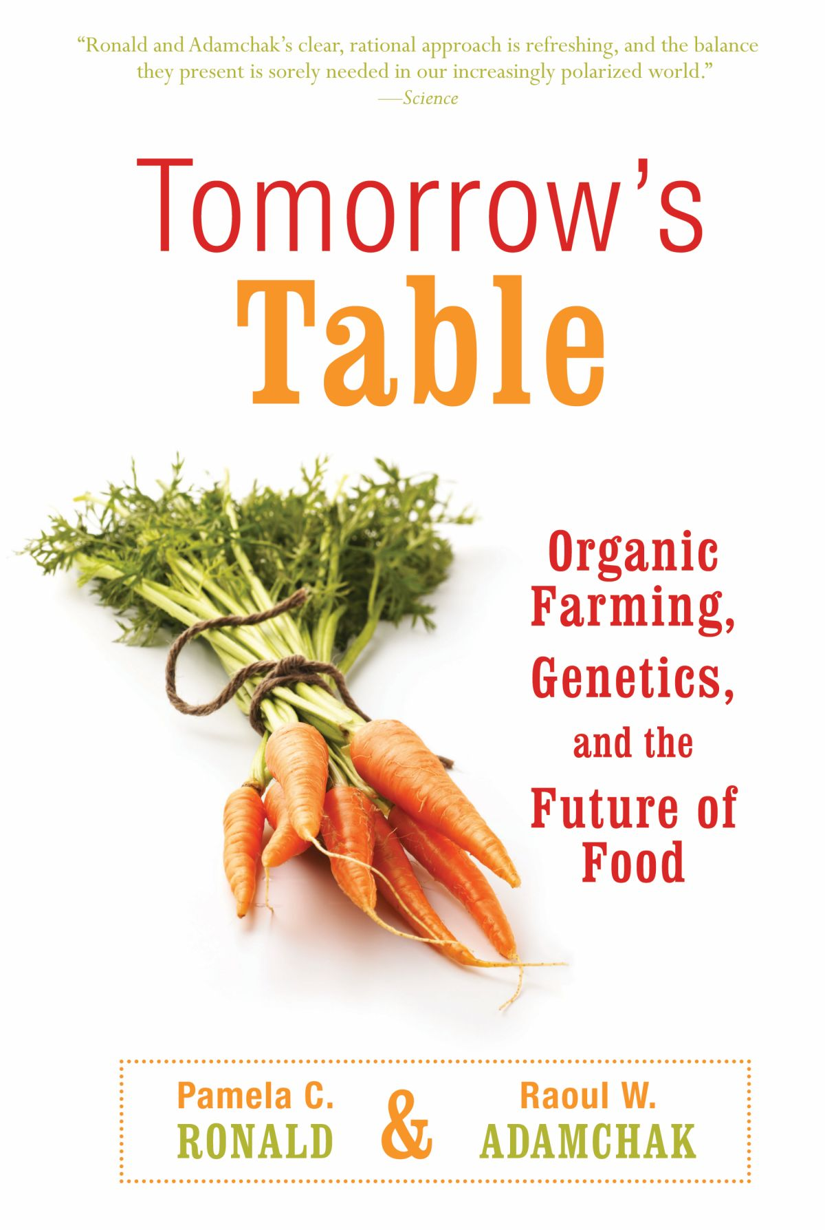 Tomorrow's Table book cover