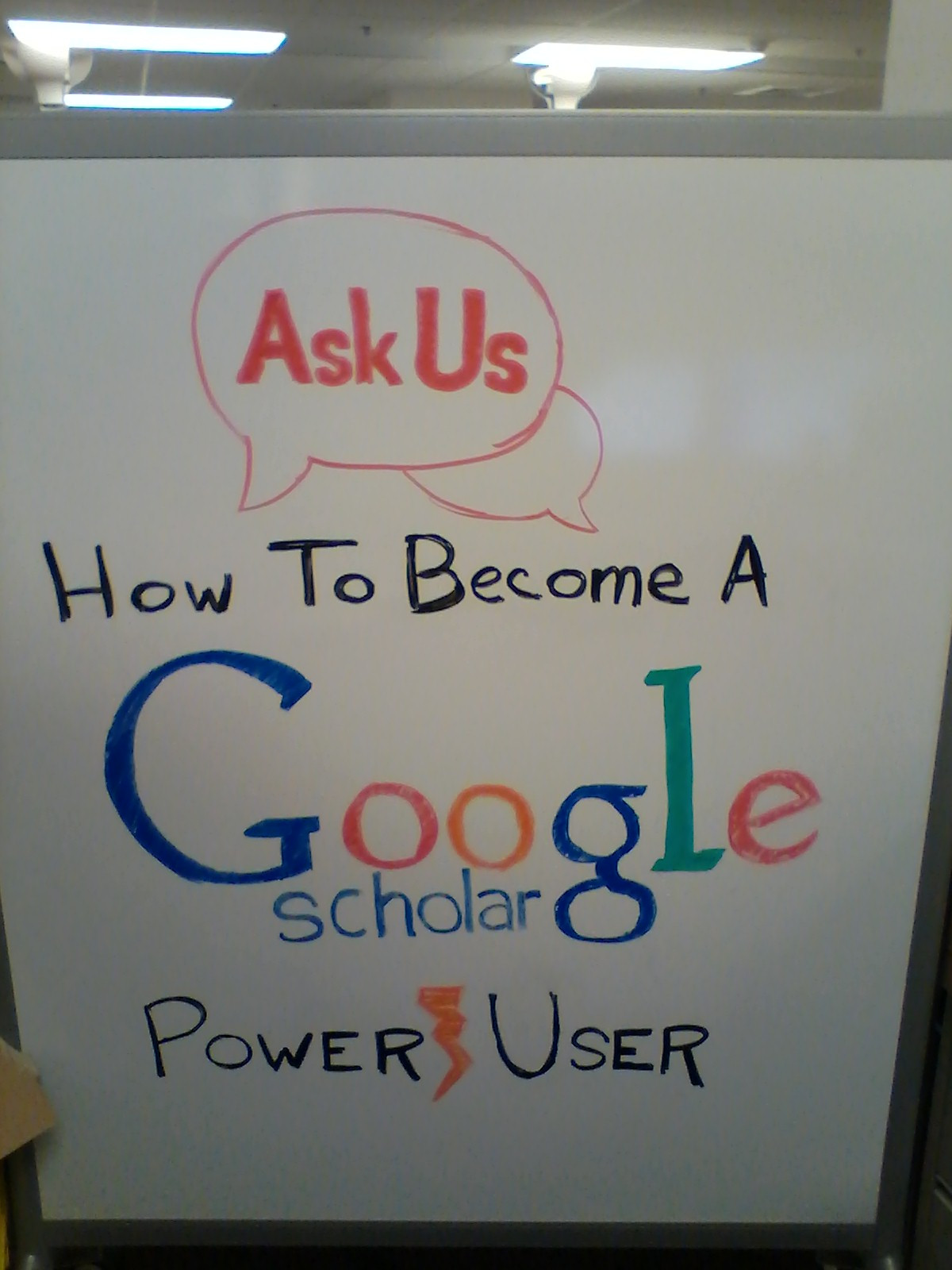 How to Become a Google Scholar Power User sign