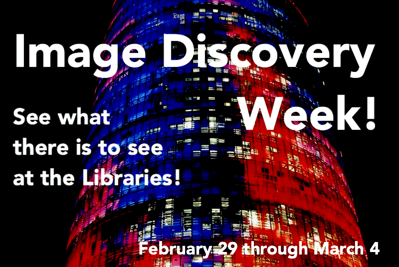 Image Discovery Week : see what there is to see at the NCSU