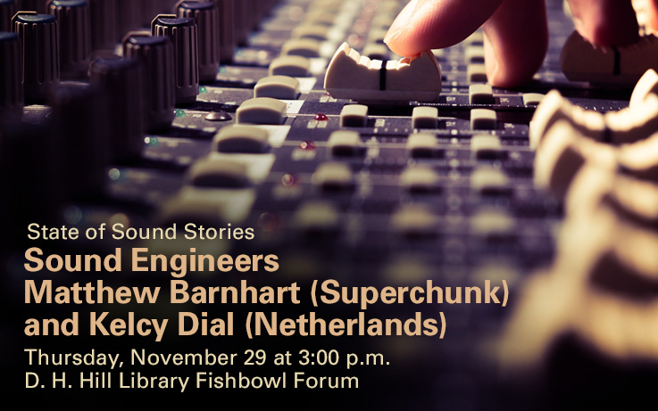 State of Sound Stories: Sound Engineers