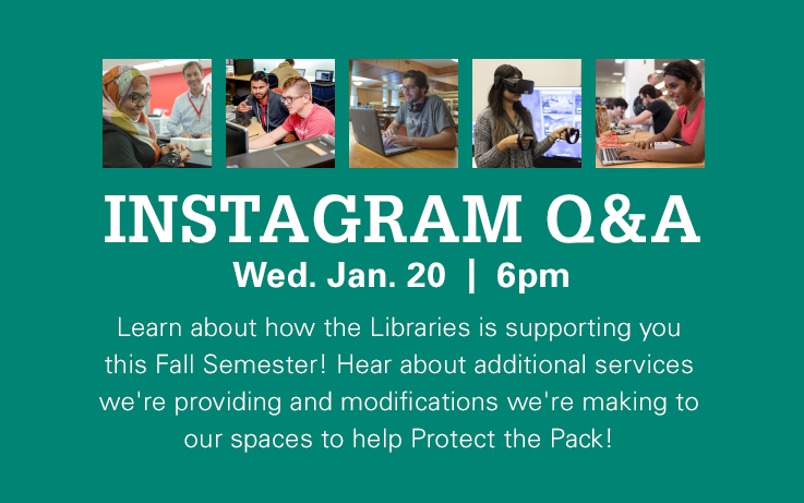 Instagram Live! W/The Libraries