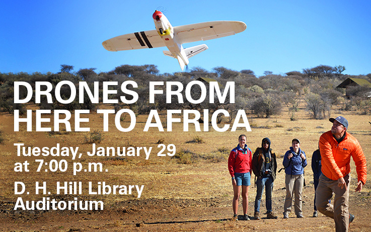 Drones from here to Africa