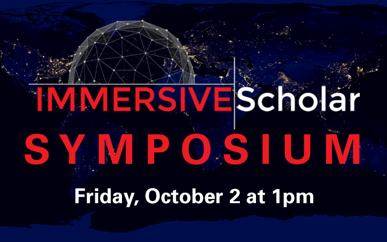 Immersive Scholar Symposium: Data, Surveillance, and Privacy
