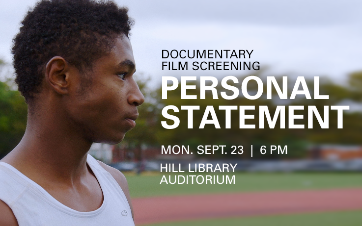 Personal Statement Movie Screening