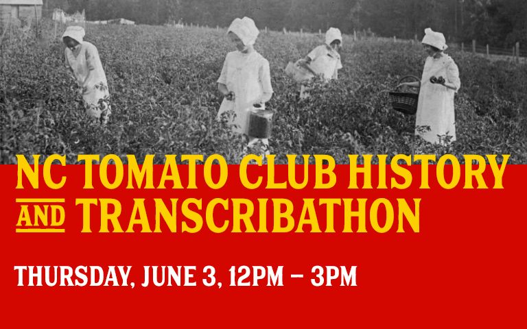 NC Tomato Club History and Transcribathon