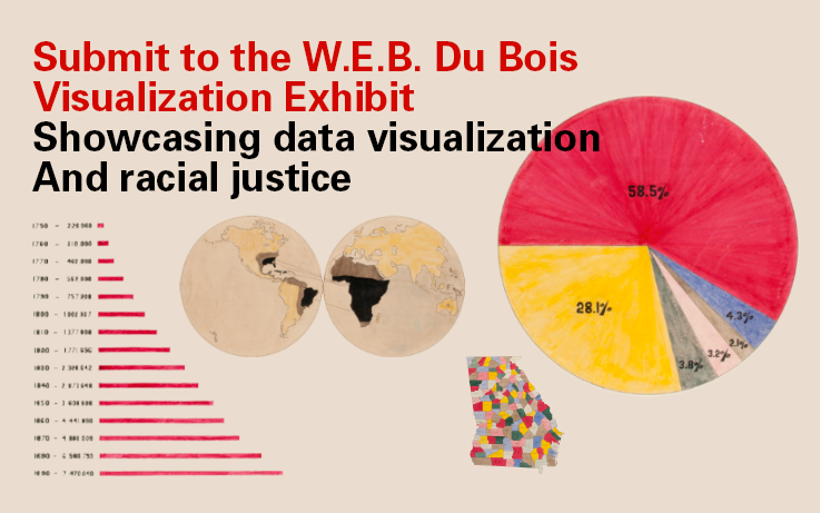 Submit to the W.E.B. Du Bois Visualization Exhibit Showcasing data visualization and racial justice