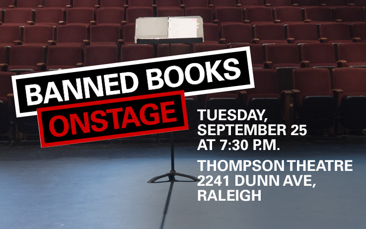 Banned Books Onstage
