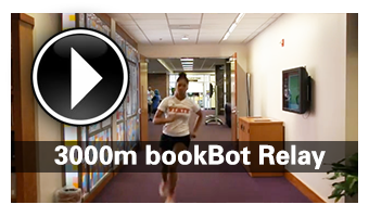 3000m bookBot Relay