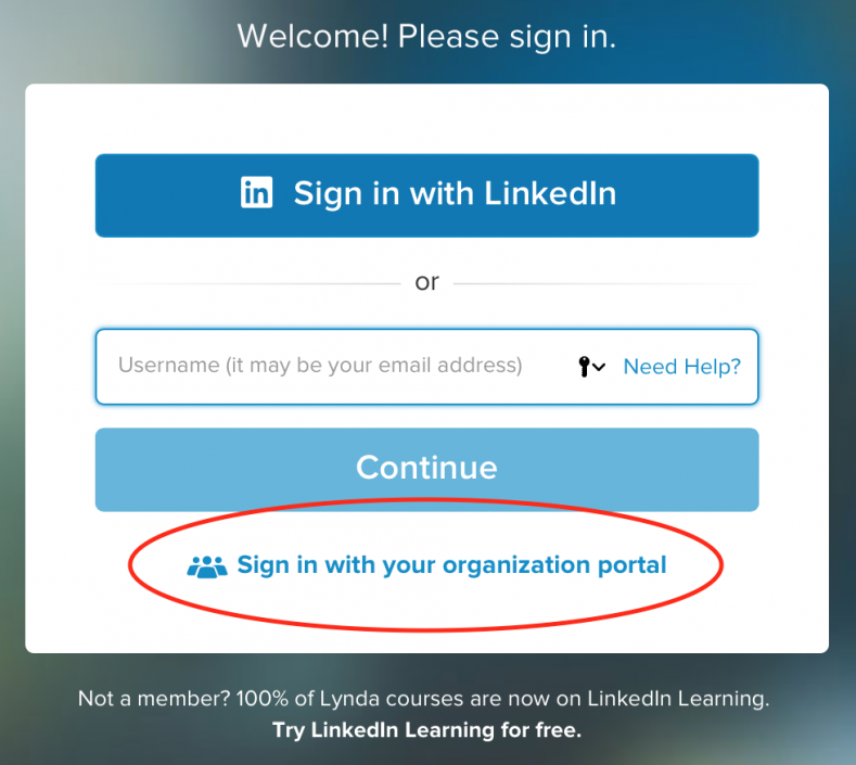 How do I access LinkedIn Learning at the NC State University