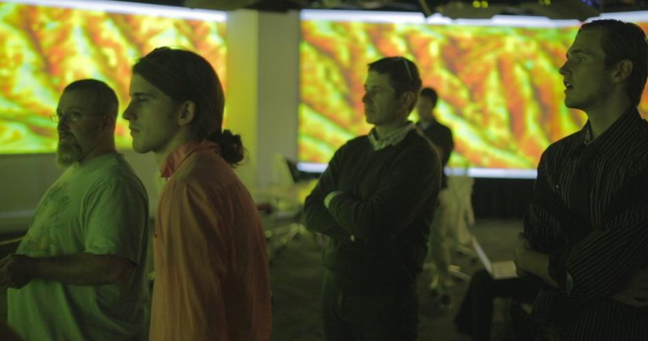 Geospatial visualization in Hunt Library's Teaching and Visualization Lab
