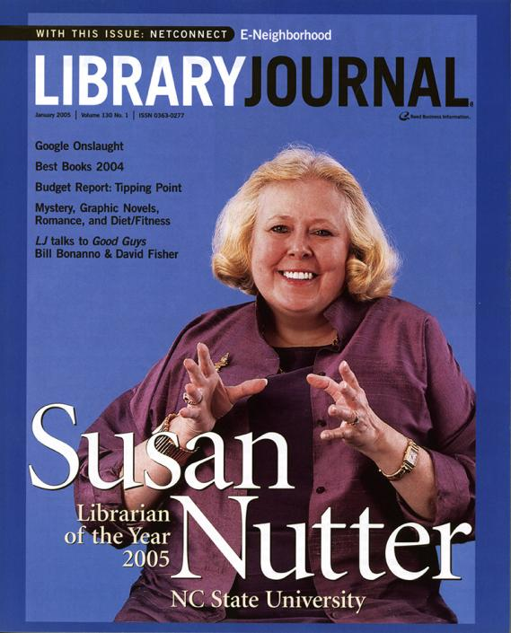In 2005 Susan was named Library Journal Librarian of the Year