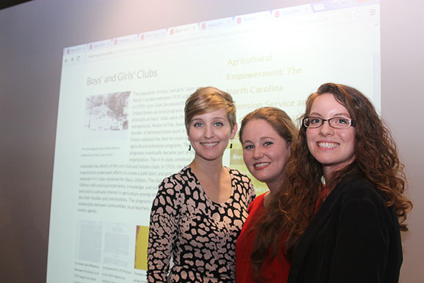 HI 534 Graduate Students present their digital history project