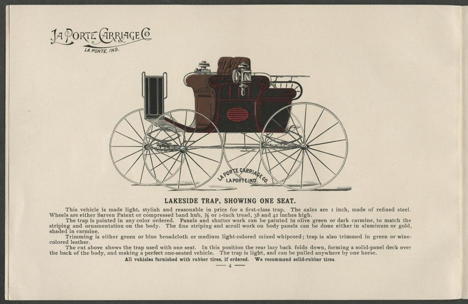 La Porte Carriage Co. (1895)