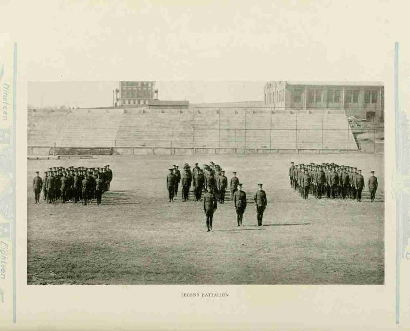 NC State College Regiment, 1917-1918 (Agromeck, 1918)