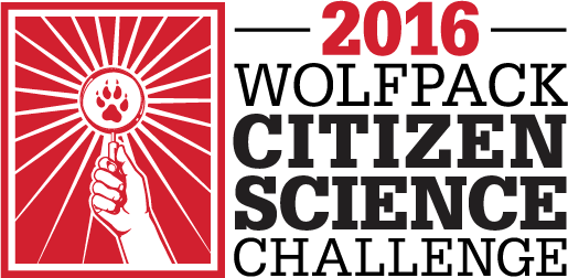 wolfpack citizen science challenge logo