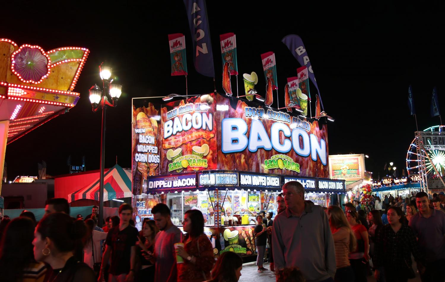 Bacon Booth at the NC State Fair