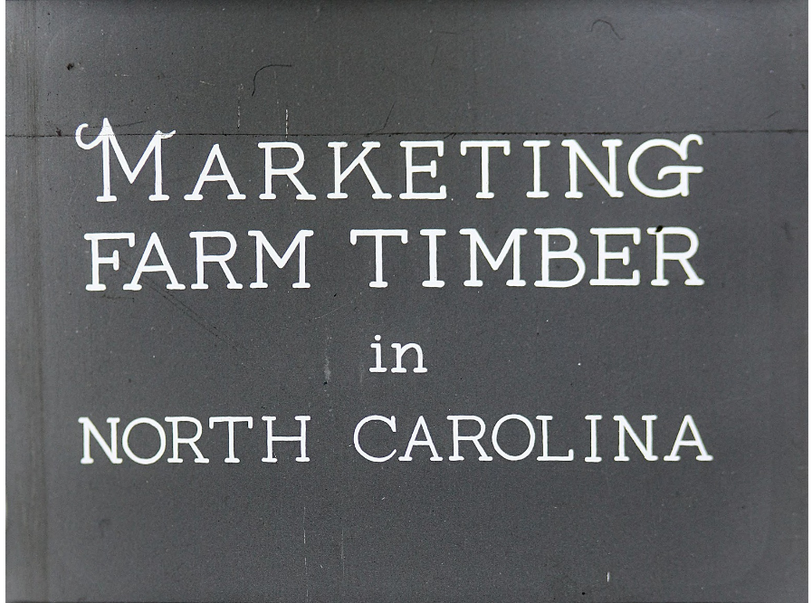 Timber marketing filmstrip from the early 1930s