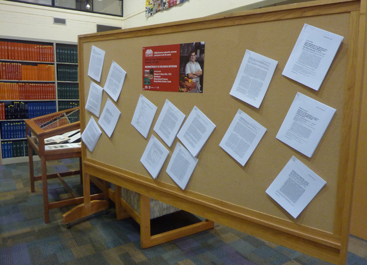 Display of select publications co-authored by Dr. Valdes