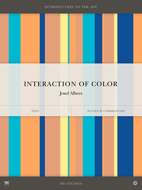 Interaction of Color front cover photo