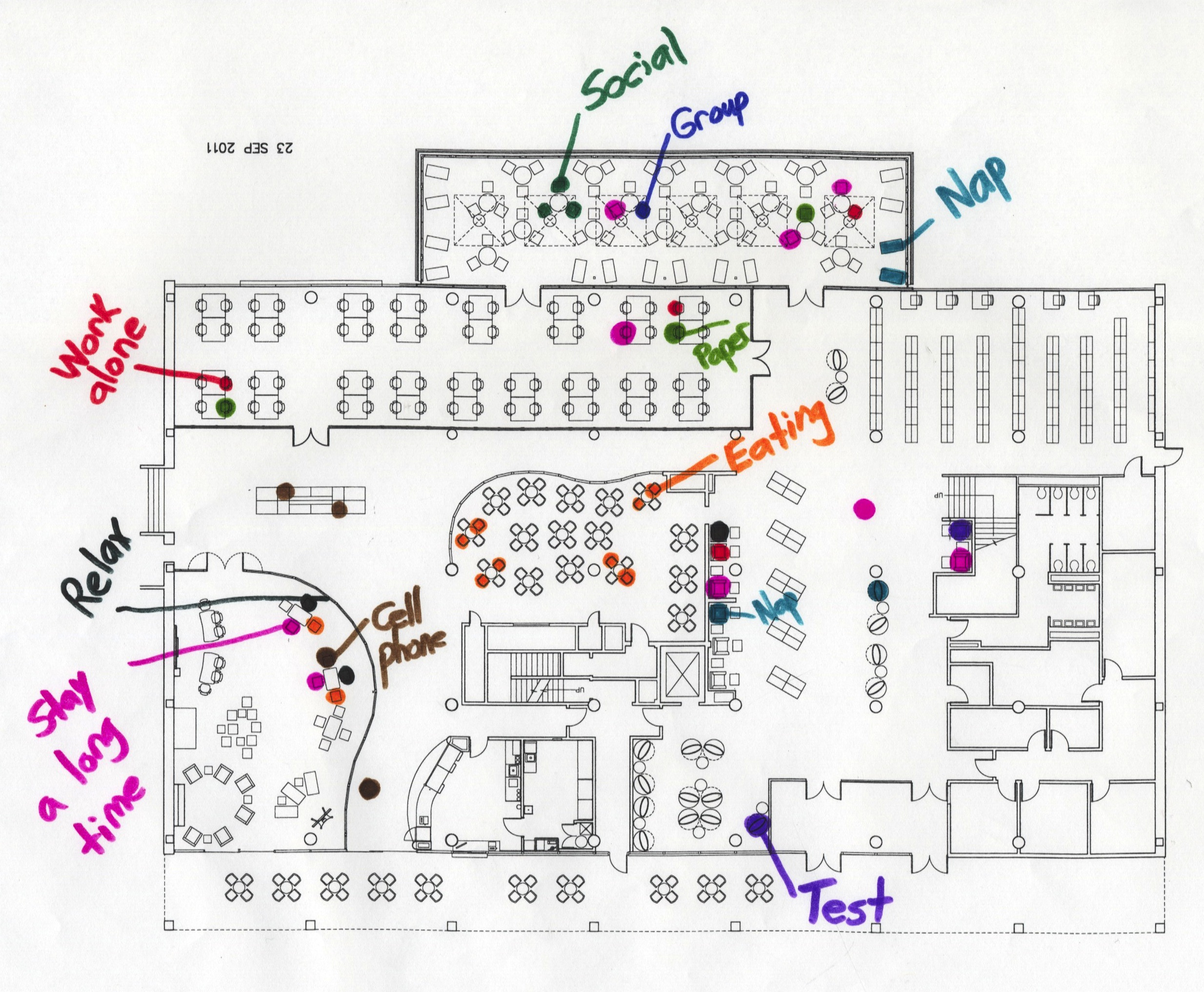 Hunt Library Map Seminar to Explore Student Use of Library Spaces | NCSU Libraries Hunt Library Map