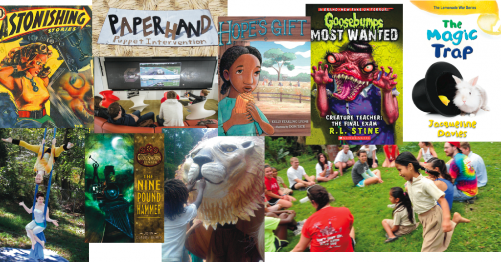 Children's Events at the North Carolina Literary Festival