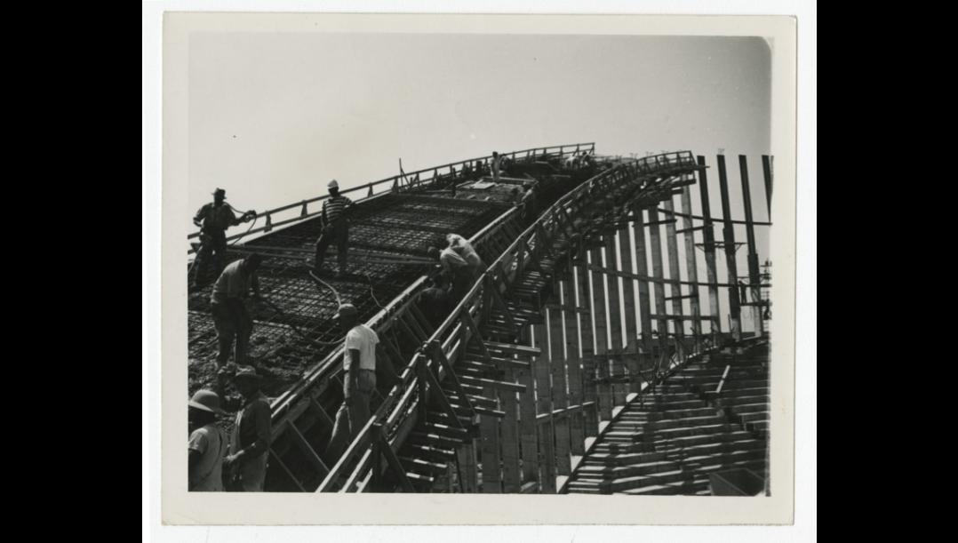 Dorton Arena Construction