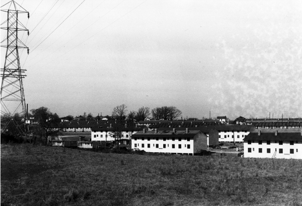 The site once was home to Vetville, a pre-fabricated apartment community for veteran students with families photo