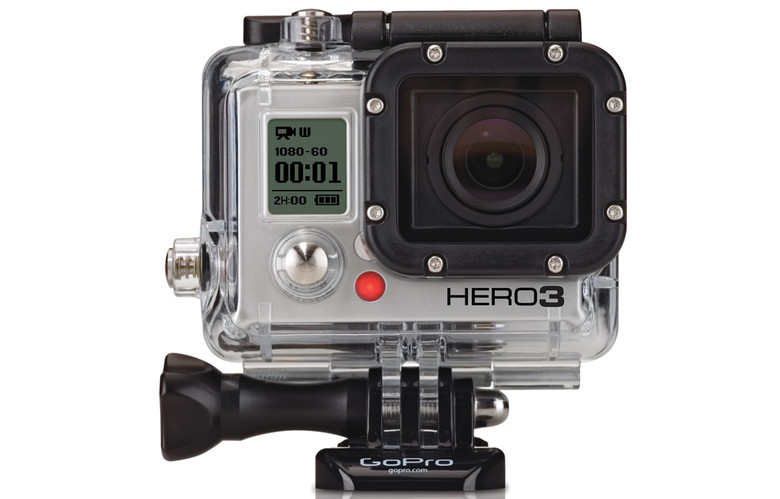 Go Pro Camera in waterproof case