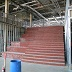 Under construction, Monumental Stair with Roman Seating.