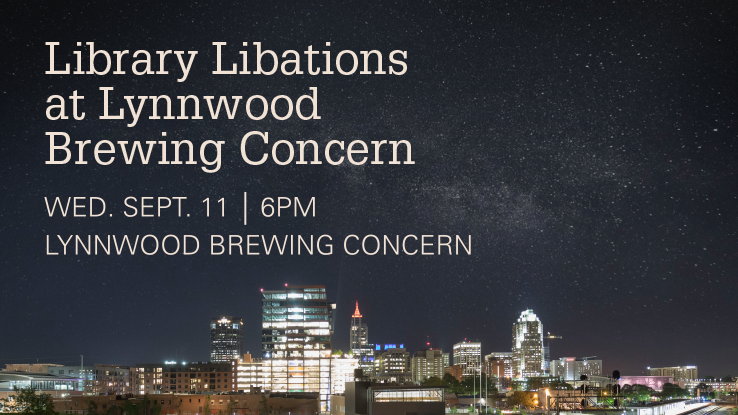 Come to Library Libations at the Lynnwood Brewing Concern