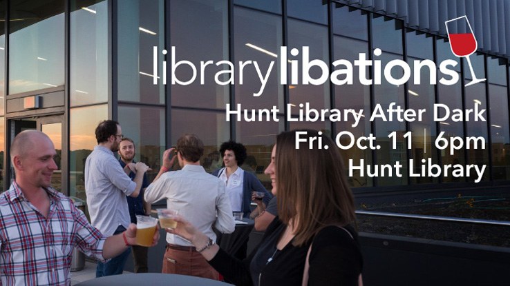 Great food and drink—and all of the Hunt Library's wonders—in one fun night