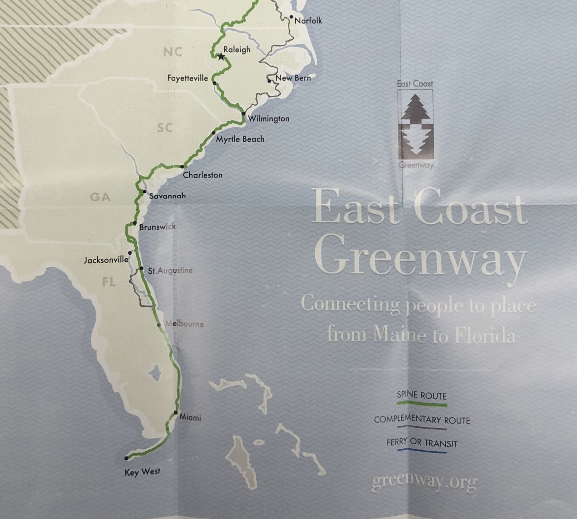 Collection Guide for the East Coast Greenways Records Now Available ...