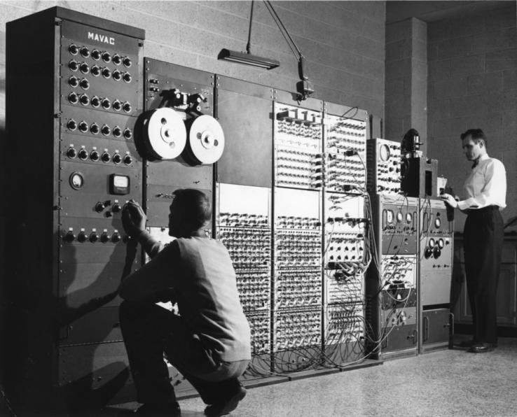 Operating MAVAC computer