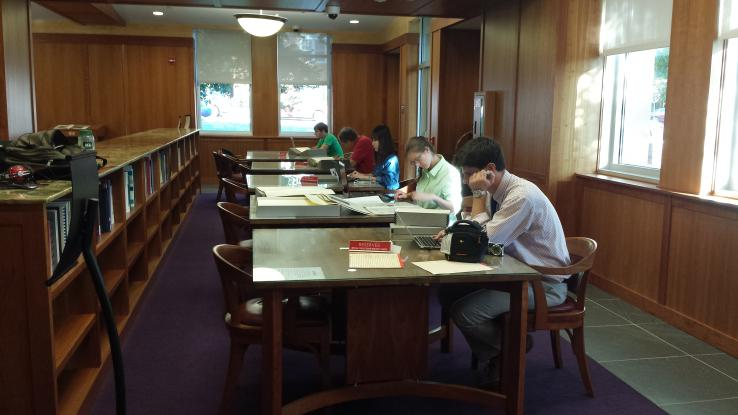 Special Collections Research Center Reading Room
