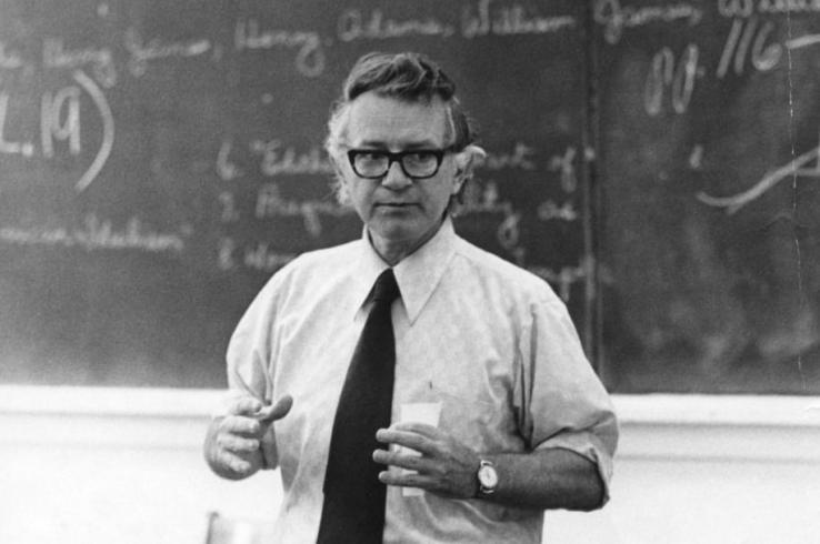 Professor Guy Owen, author of the Ballad of the Flim Flam Man
