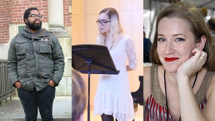 Tyree Daye, Leila Chatti and Kristen Radtke