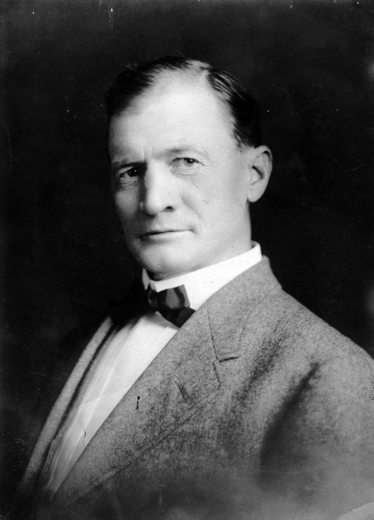 Wallace Carl Riddick, NC State's president during WWI