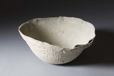 "Sally Bowen Prange, ""Edgescape Bowl."" Gift of Nancy Fields Fadum."