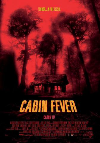Movie poster for Cabin Fever (2002)