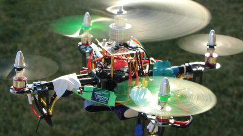 Flying Penta Drone